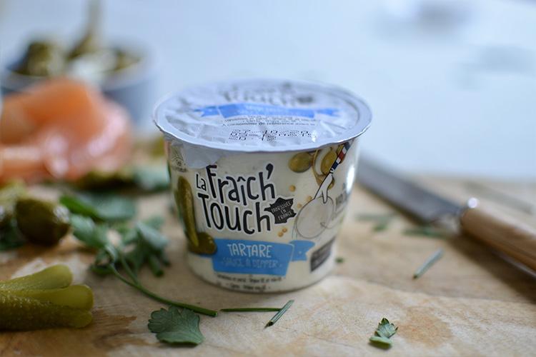 La Fraich'Touch packaging sauce Tartare
