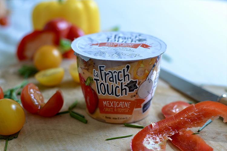 La Fraich'Touch packaging sauce Mexicaine
