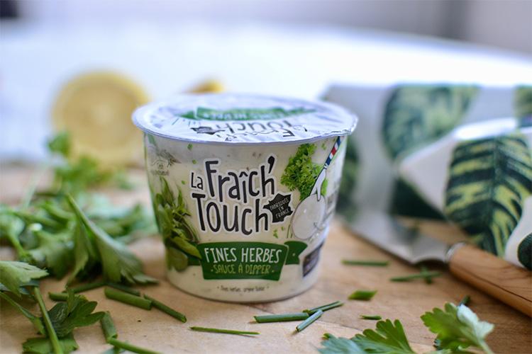 La Fraich'Touch packaging sauce fines herbes