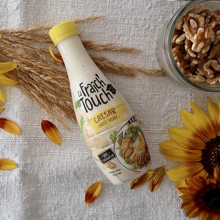 La Fraich'Touch sauce salade bouteille caesar