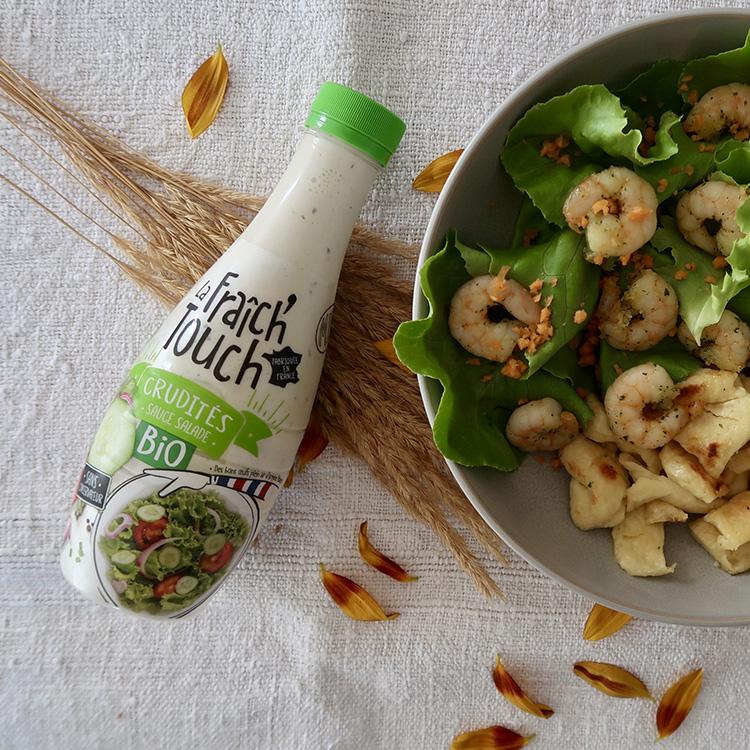 La Fraich'Touch sauce salade bouteille crudité bio