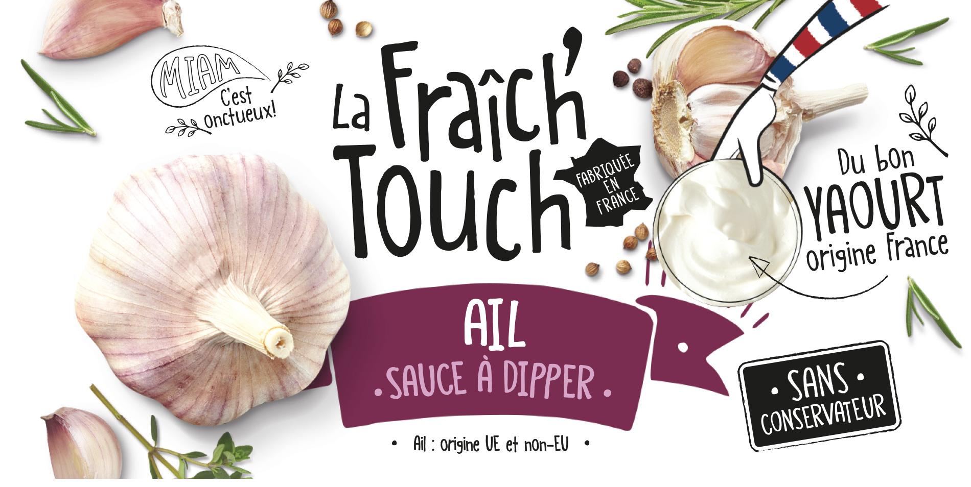 La Fraich'Touch cover sauce ail