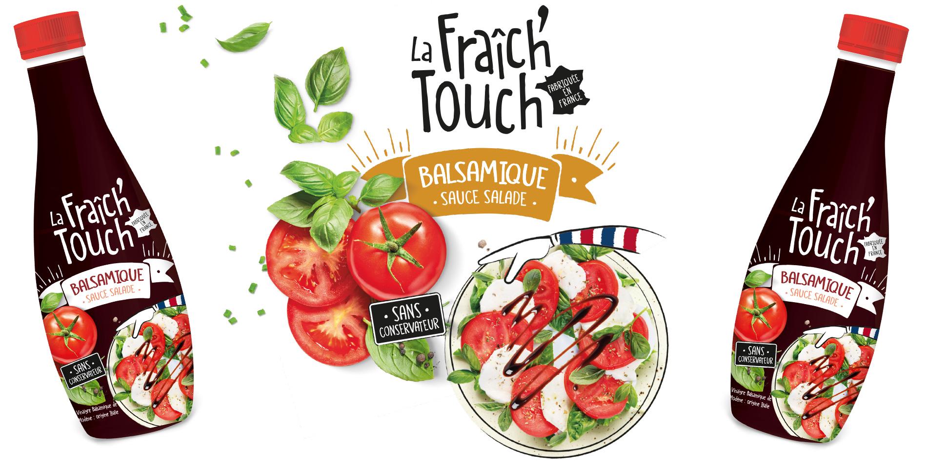 La Fraich'Touch sauce balsamique