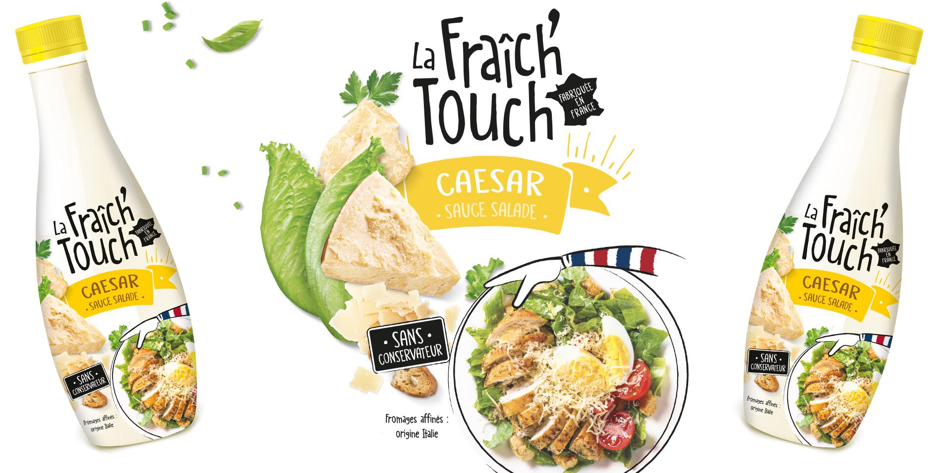 La Fraich'Touch sauce caesar