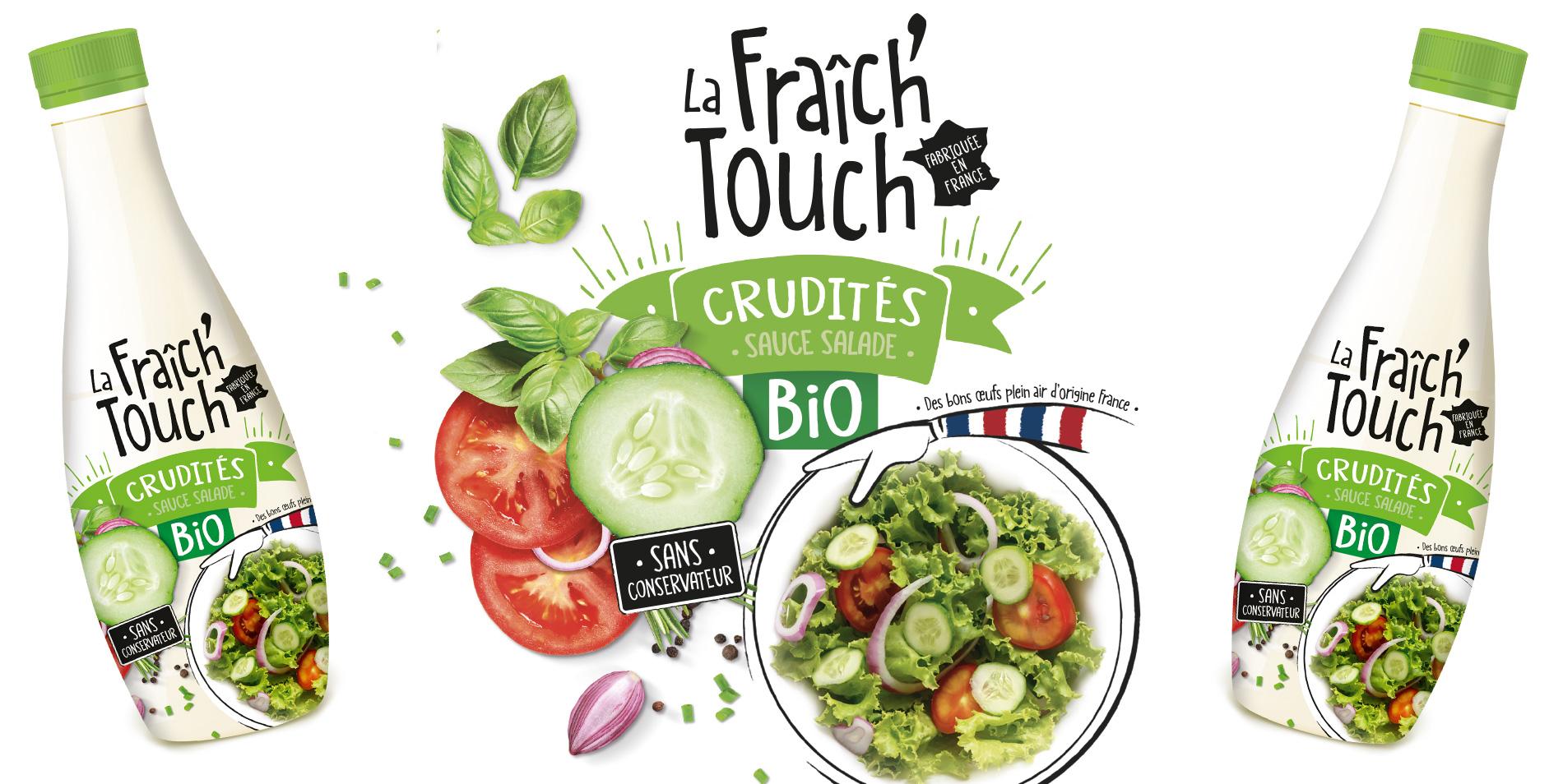 La Fraich'Touch sauce crudité bio