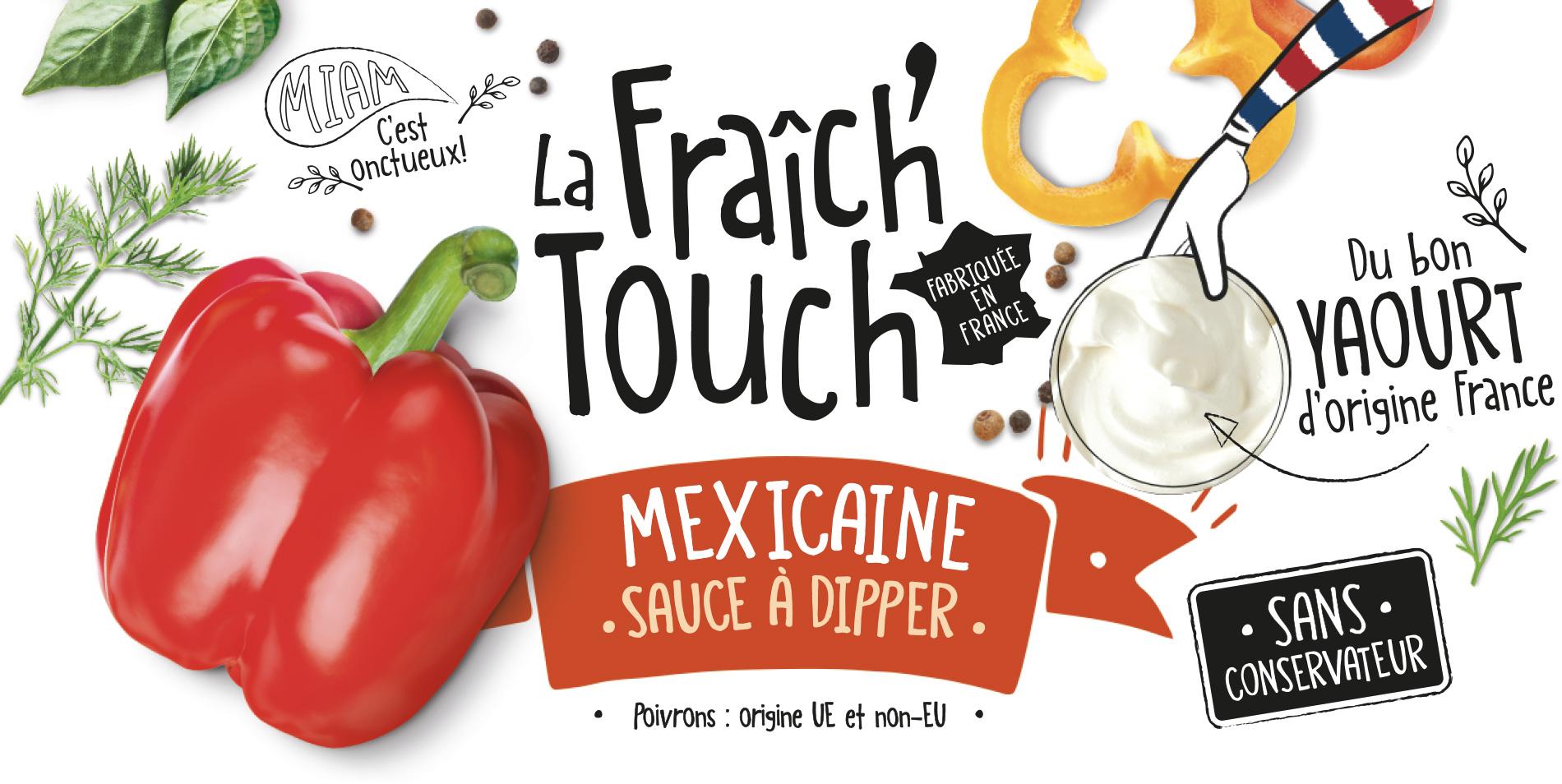 La Fraich'Touch cover sauce mexicaine