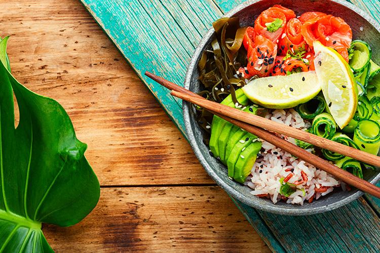 La Fraich'Touch sauces salade exotique poke bowl