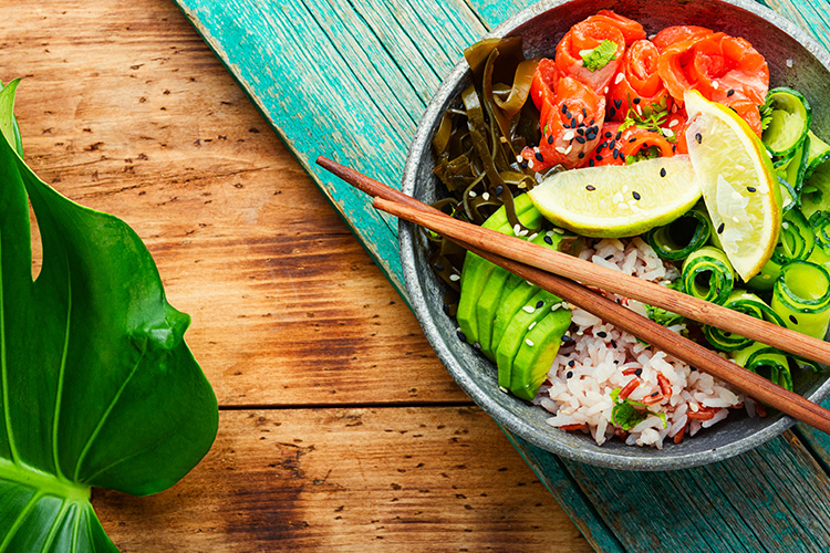 La Fraich'Touch sauces salade poke bowl