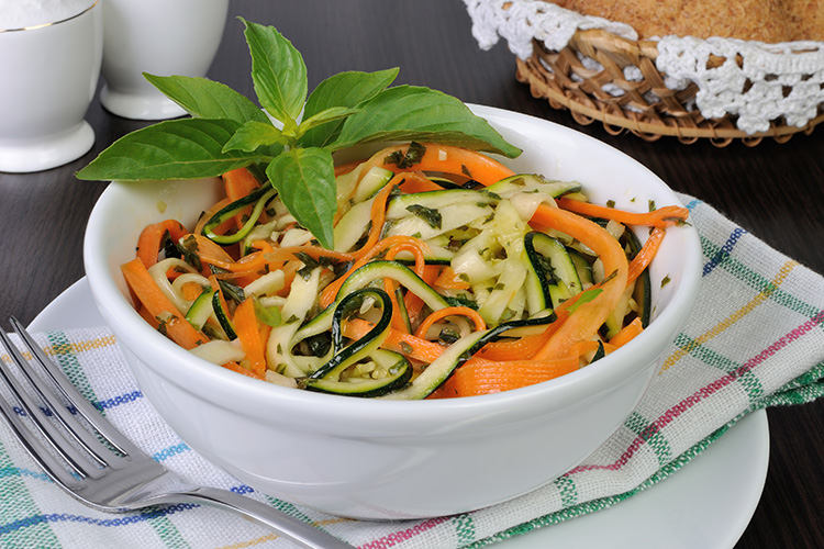La Fraich'Touch sauces salade carottes courgettes
