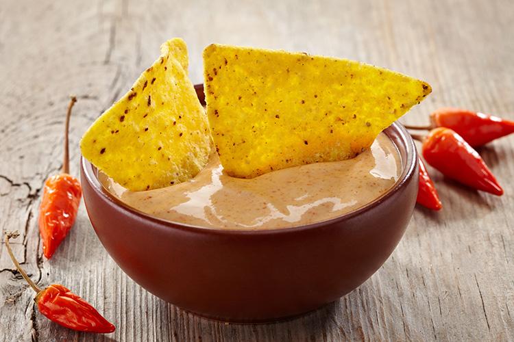 La Fraich'Touch sauce tortillas