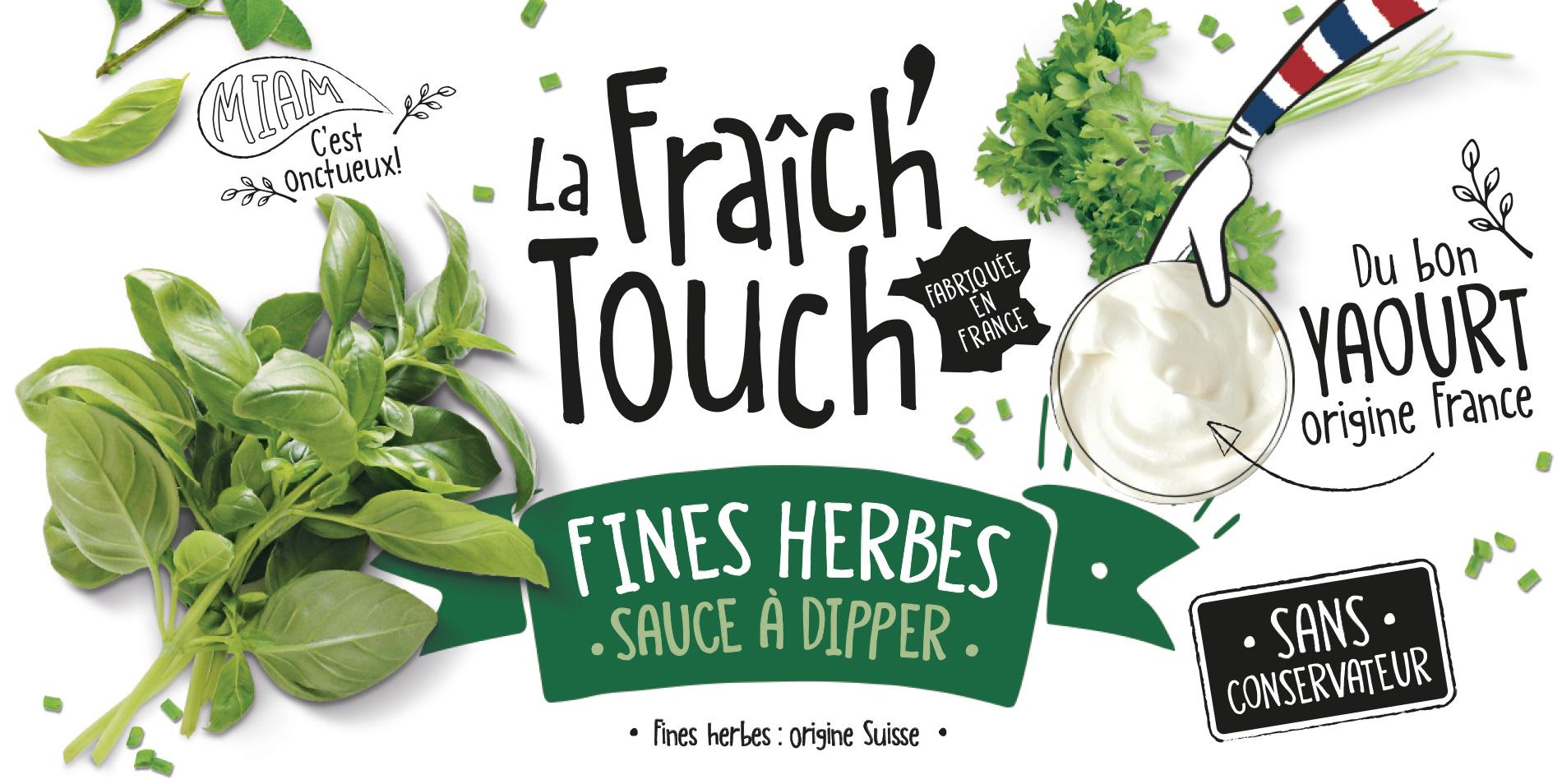 La Fraich'Touch cover sauce fines herbes