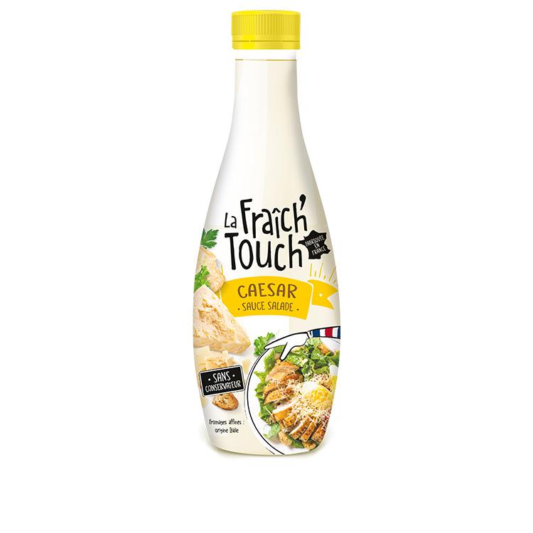 La Fraich'Touch sauces salade caesar produit