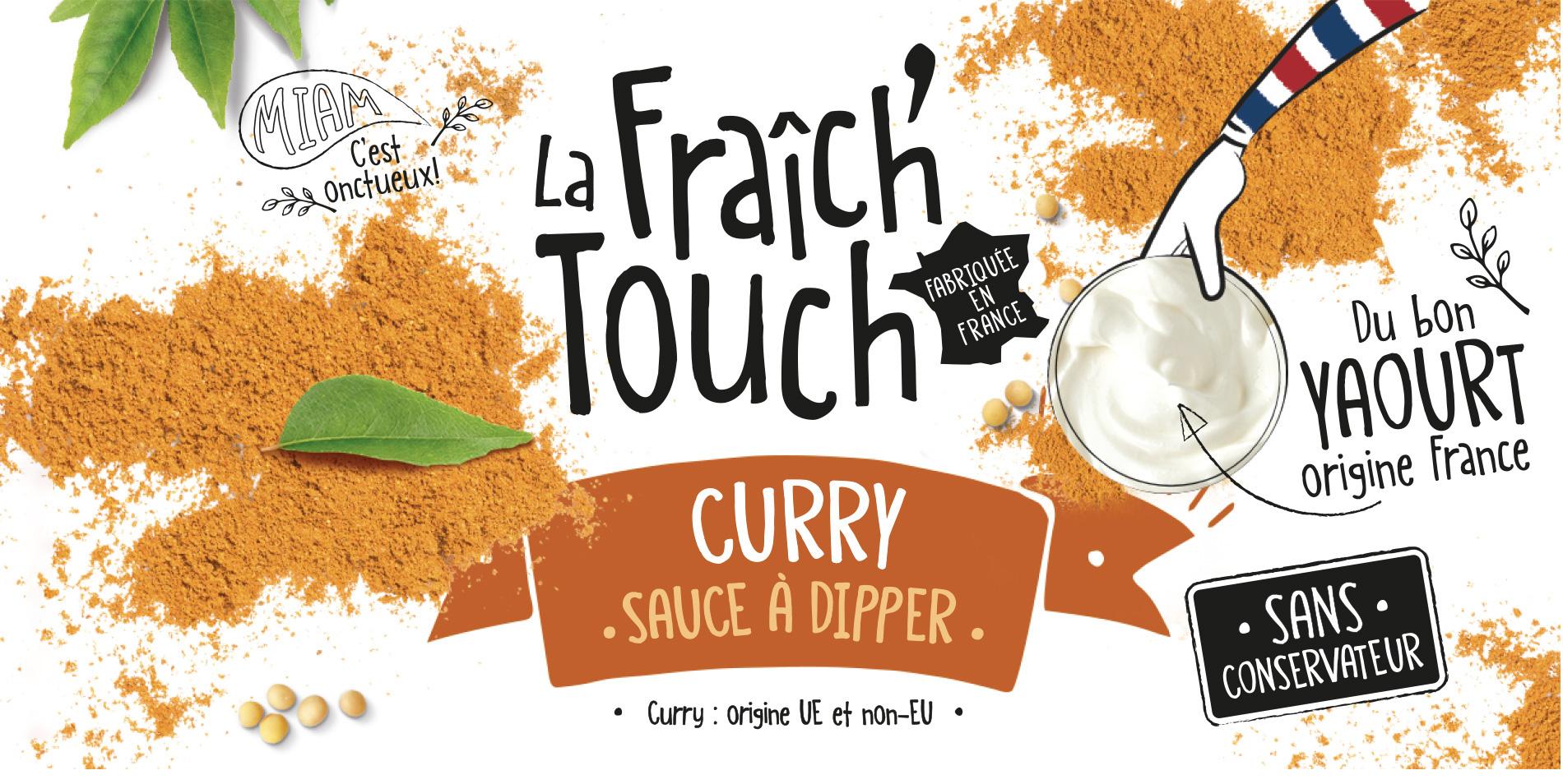 La Fraich'Touch sauce au curry