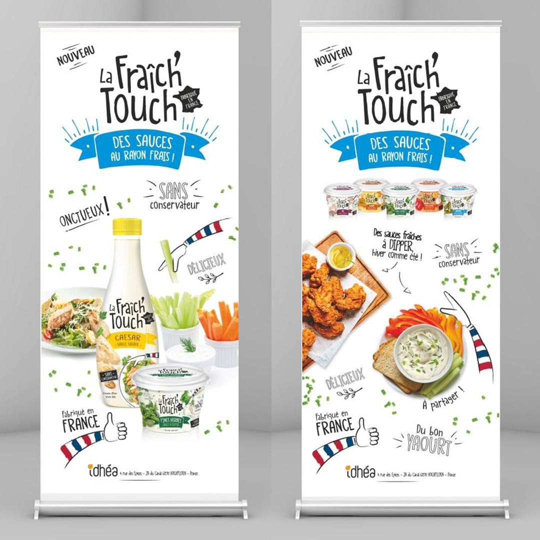 La Fraich'Touch sauce kakemono