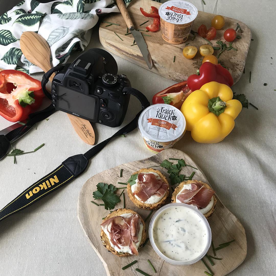 La Fraich'Touch sauce shooting photo