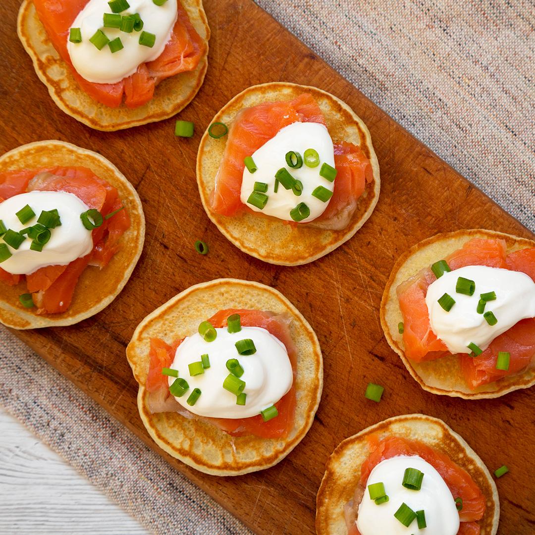 La Fraich'Touch sauce recette blinis saumon