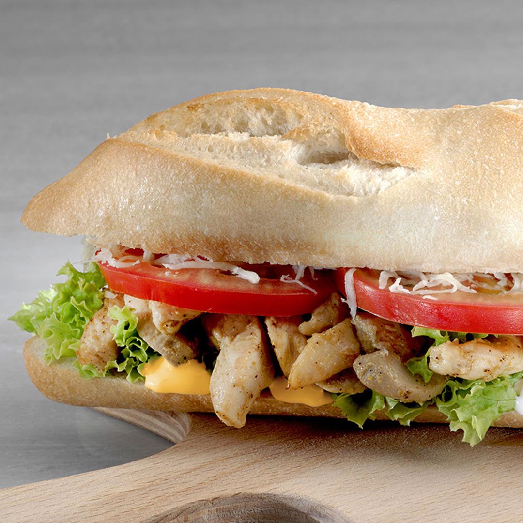 La Fraich'Touch sauce sandwich au poulet